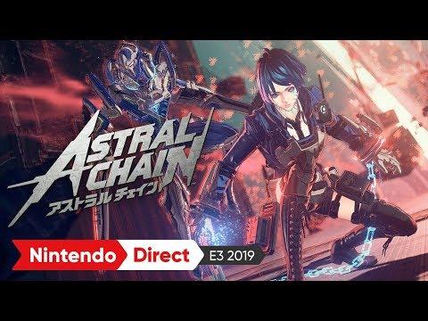 ASTRAL CHAIN(アストラルチェイン)2nd トレーラー:E3 2019 出展映像