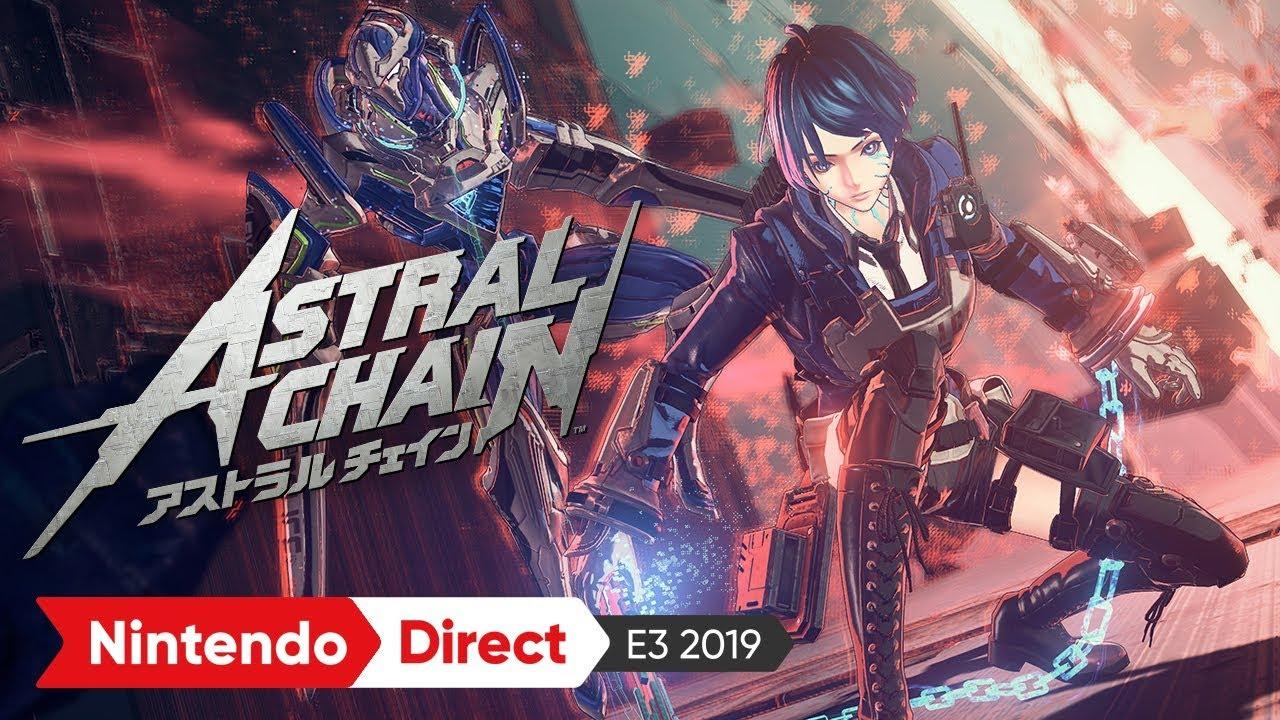 ASTRAL CHAIN(アストラルチェイン)2nd トレーラー [E3 2019 出展映像 ...