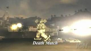 Chromehounds Xbox 360 Gameplay - Environments on Fire
