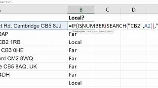 Excel IF Function: If Cell Contains Specific Text - Partial Match IF Formula