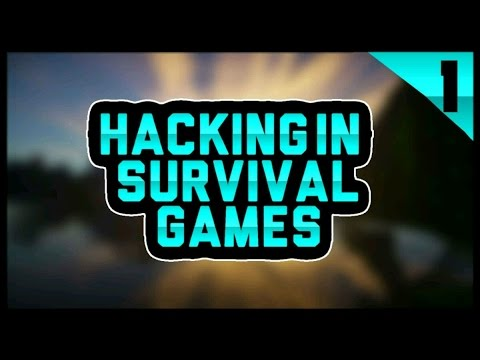 HACKING IN MCPE SURVIVAL GAMES #1
