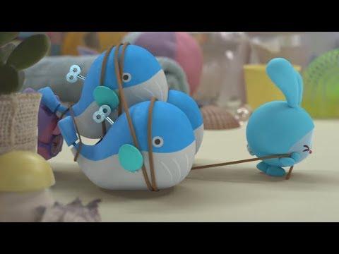 Малышарики - новые серии -  Три кита (148 серия) Развивающие мультики для самых маленьких