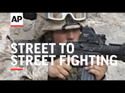 Street to street fighting, body, weapons cache