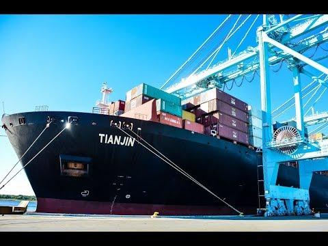JAXPORT welcomes first ZIM vessel