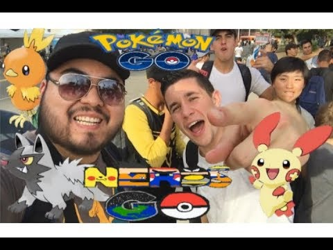 Pokemon Go event in L.A CicLAvia Iconic Wilshire Boulevard- I met MYSTIC7
