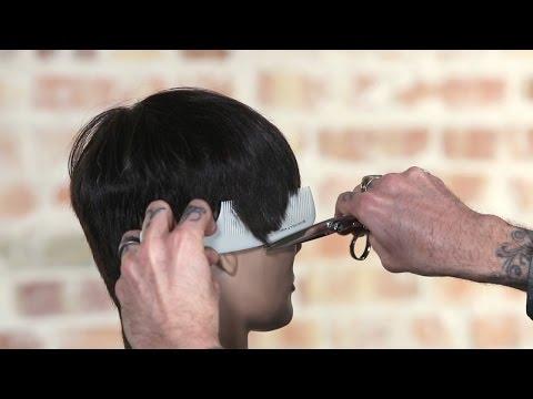 Using a Handle Comb for Scissor Over Comb or Clipper Over Comb Haircuts