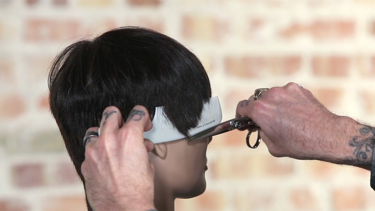 Using a Handle Comb for Scissor Over Comb or Clipper Over Comb Haircuts