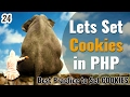How to set PHP Cookies with best practice | Learn PHP in Hindi / Urdu