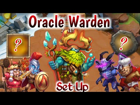 Oracle Warden Challenge | Top-20* Rank | ×3 Boss | Full Set Up | Castle Clash