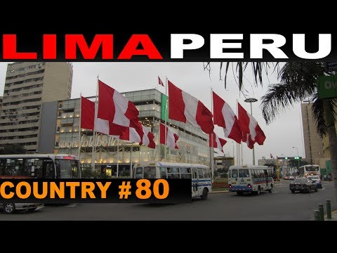 A Tourist's Guide to Lima, Peru