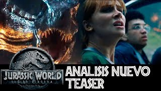 Análisis Teaser Trailer Jurassic World 2 - Fallen Kingdom