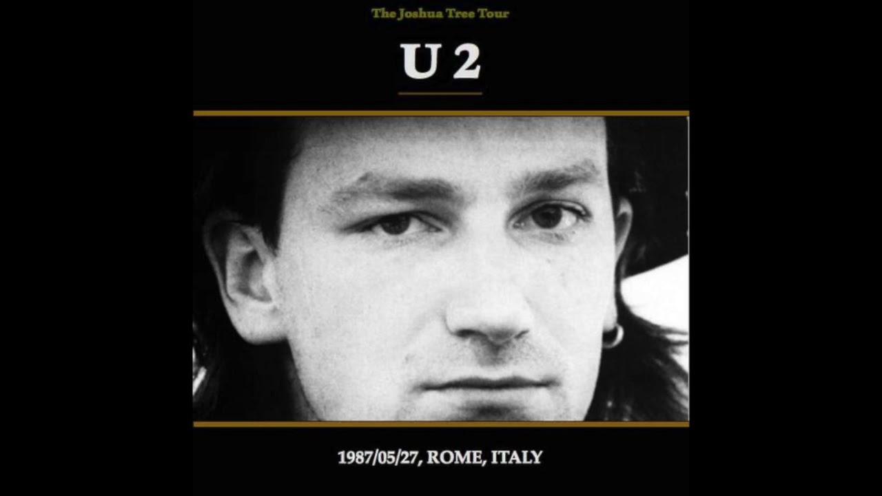 Download U2, i tour che cambiarono la storia della musica. Roma, 1987