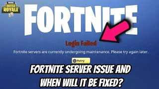 WHY ARE THE FORTNITE SERVERS NOT WORKING? WHEN THE FORTNITE SERVERS WILL BE COMING BACK ONLINE!