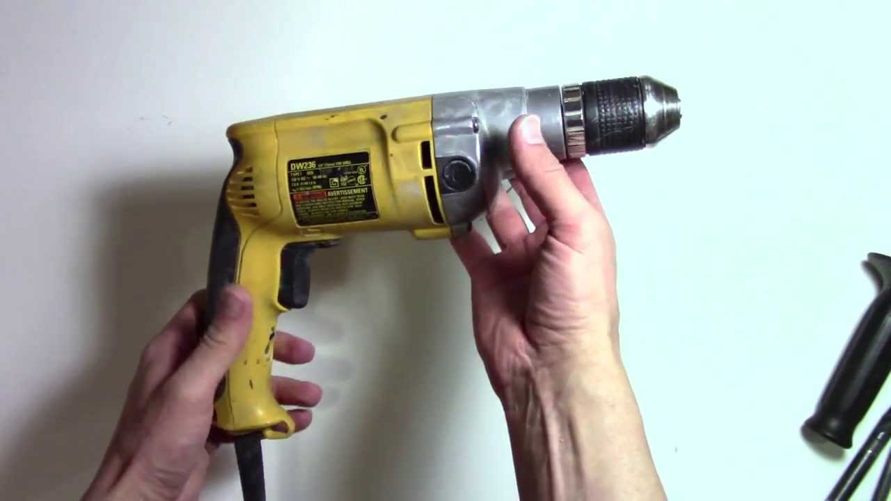 How To Choose A Great Power Drill Dewalt Dw236 Dw246 Review Youtube