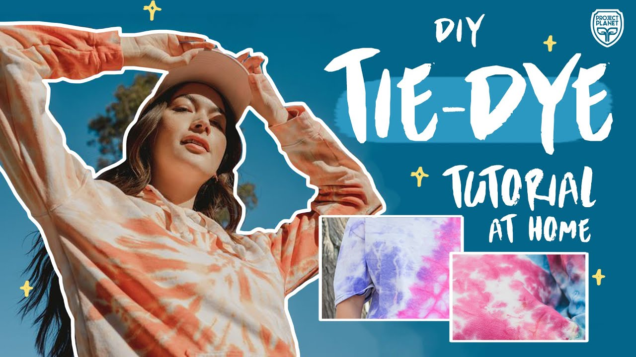 How to Make Your Own Tie-Dye Shirt