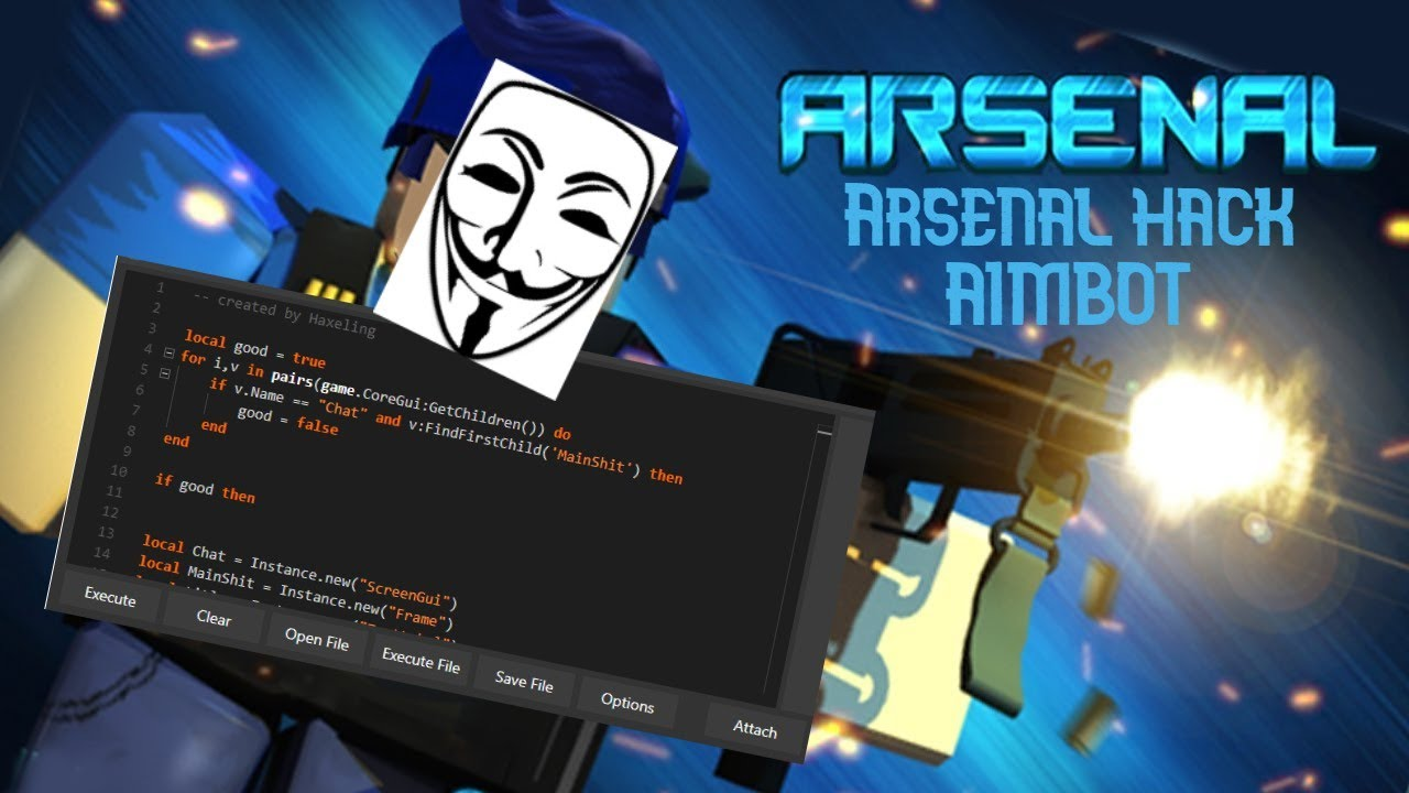 roblox arsenal aimbot hack