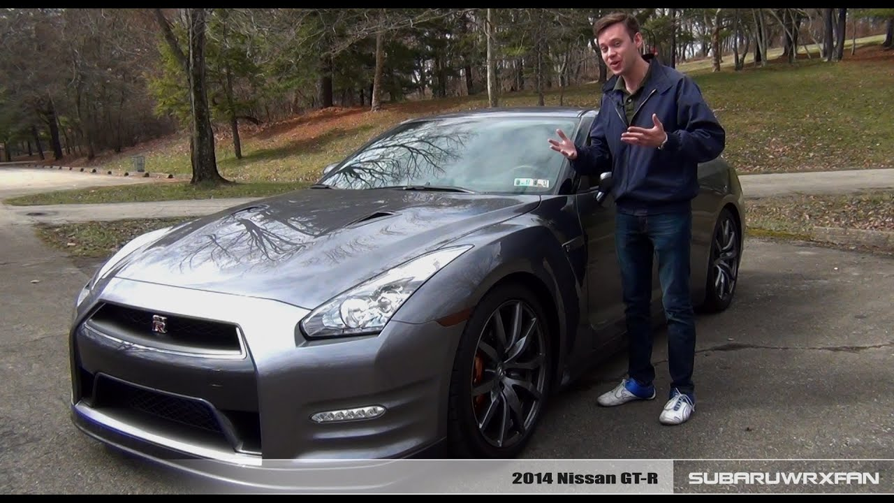 Review: 2014 Nissan GT-R - YouTube