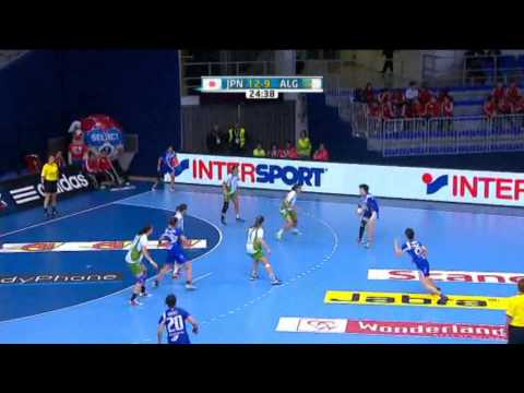 Japan v Algeria Group B Women's World Handball 2013
