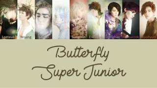 Super Junior Butterfly Lyrics