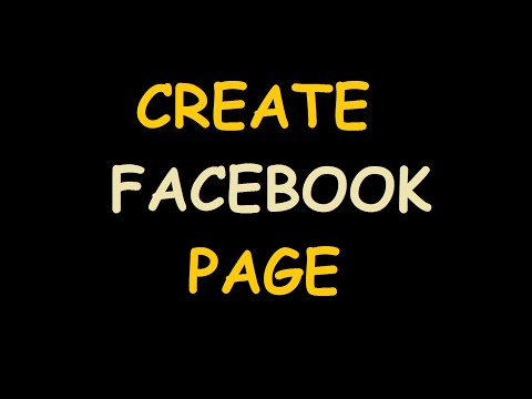 How To Create a Facebook Page For Business,Organization,Blog,Artist New Method 2017