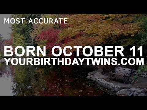 Born on October 11 | Birthday | #aboutyourbirthday | Sample