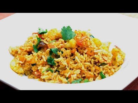 recette-indienne-végétarienne-fried-rice- -riz-frit-₪-pankaj-sharma