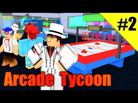 expansion!-air-hockey!---arcade-tycoon-ep-2---roblox