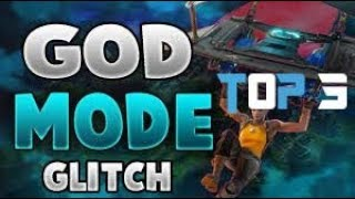 TOP 3 BEST GOD MODE GLITCH SPOTS - FORTNITE BATTLE ROYALE 'WORKING GLITCHES 2018'