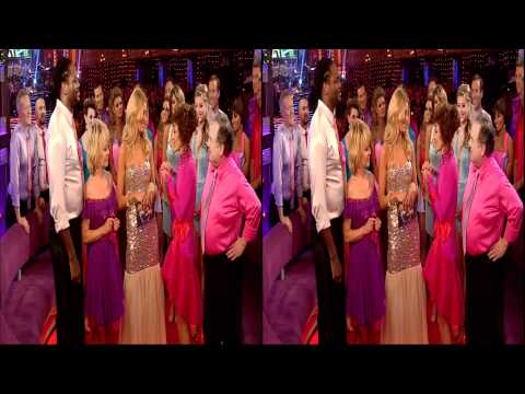 BBC Freeview HD 3D - Strictly Come Dancing Final 2011 - Part