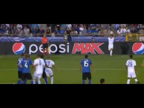 Marc Albrighton Goal CLub Brugge vs Leicester  //Extended Full HD// 0-1  14/09/2016