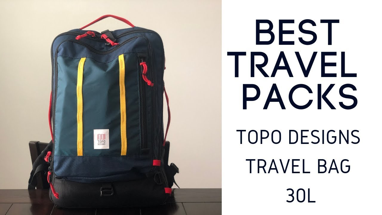 Best Travel Packs: Topo Designs 30L Travel Bag Review