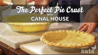 The Perfect Pie Crust Featuring Canal House, Presented By Serious Eats And The American Egg Board