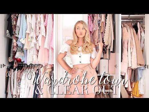 NEW WARDROBE TOUR & CLEAR OUT ~ Freddy My Love