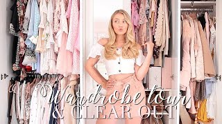new wardrobe tour clear out freddy my love