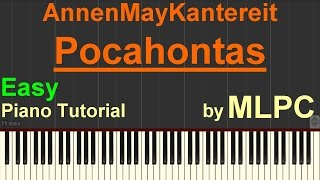 AnnenMayKantereit - Pocahontas (Easy Version) I Piano Tutorial by MLPC