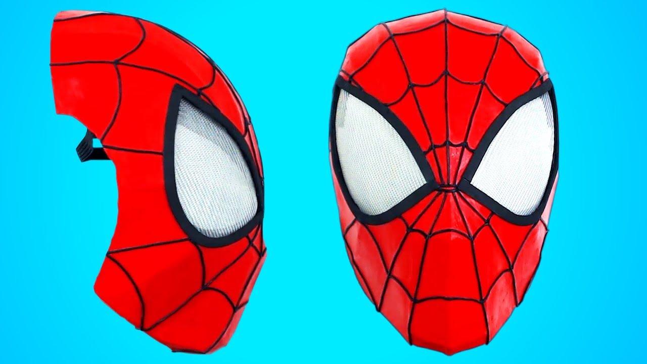 mÁscara de spider-man - cómo se hace - youtube