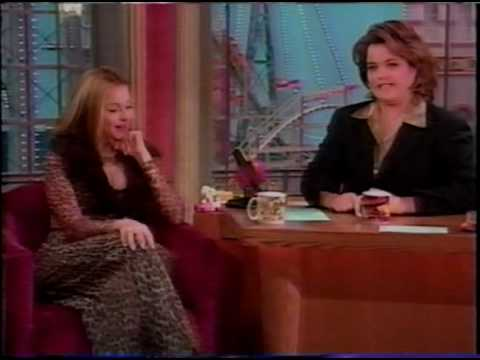 Madonna on Rosie O'Donell Show (1/4)