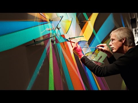 Lightpaintings by Stephen Knapp Documentary