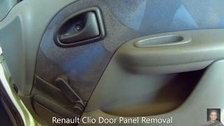 Renault Clio  door panel removal
