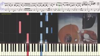 О Любви - ЧиЖ & Co (Ноты и Видеоурок для фортепиано) (piano cover)