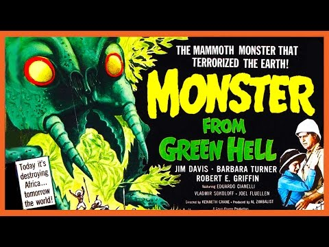 Monster From Green Hell (1957) Trailer - B&W / 1:44 mins