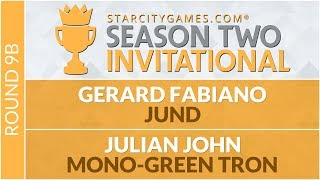 SCGINVI Round 9b Julian John vs Gerard Fabiano Modern