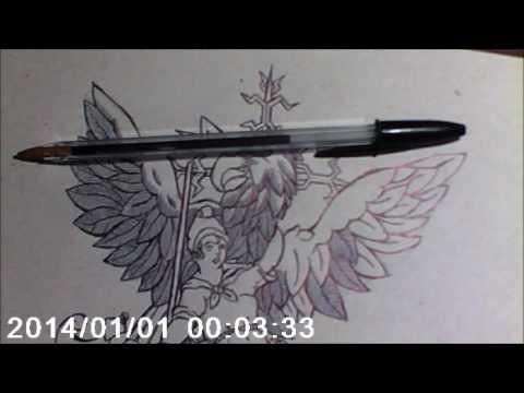 Desenhando O Rapto De Ganimedes (Rape Of Ganymede By Renactus Zoo)