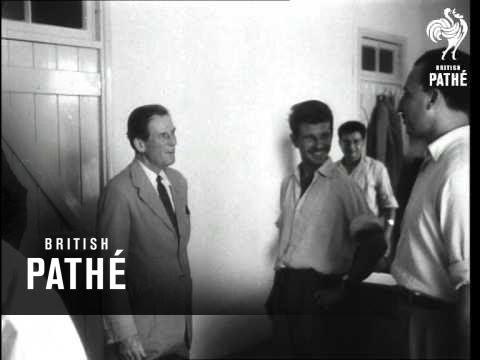 Sir John Harding Visits Cyprus Broadcasting Station (1955)