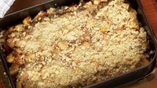 Венский яблочный пирог | Теле-теле-тесто