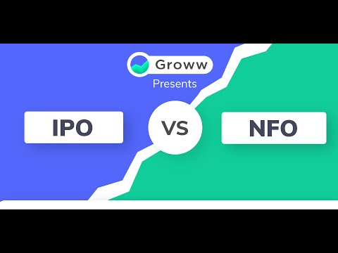 IPO vs NFO   Stock market and mutual funds