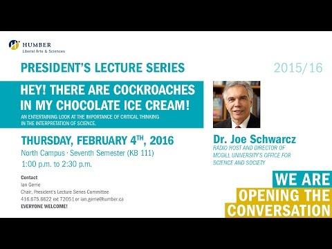 President's Lecture Series - Dr. Joe Schwarcz