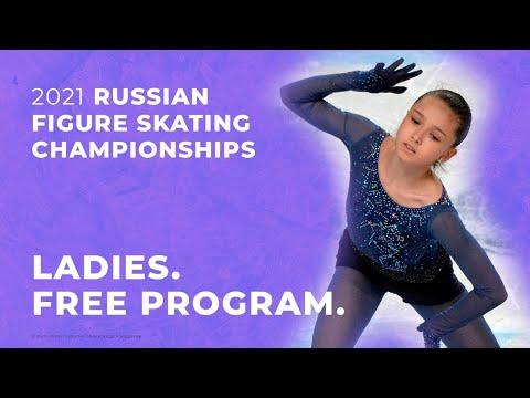 Ladies. Free Program. 2021 Russian Figure Skating Championships
