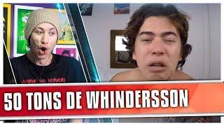REACT O DIA EM QUE EU ASSISTI 50 TONS DE LIBERDADE Whindersson