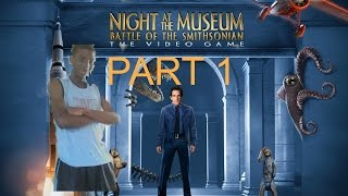 Night at the Museum: Battle of the Smithsonian (PC) Walkthrough Part 1 With Commentary
